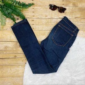 J BRAND • Dark Wash Skinny Jeans Size 27